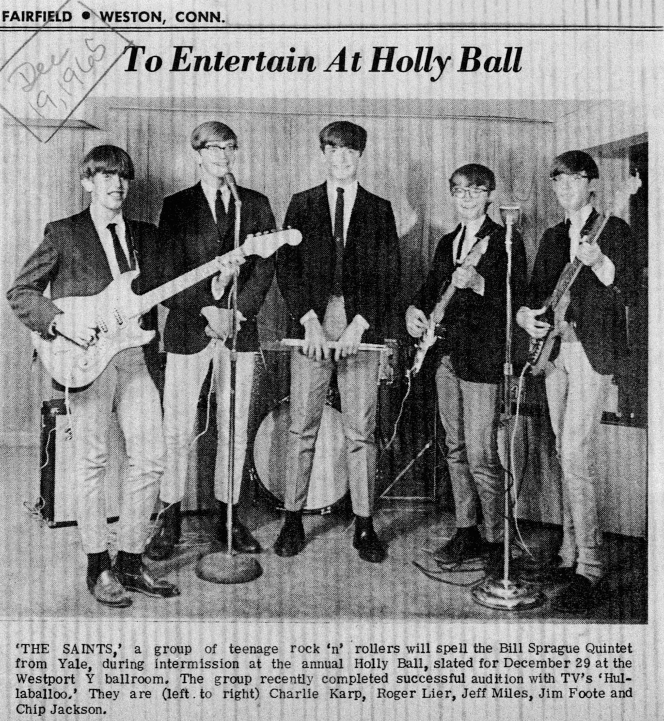 westport ct local rock bands 1960 1971